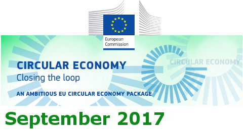 September 2017 - European Commission Circular Economy